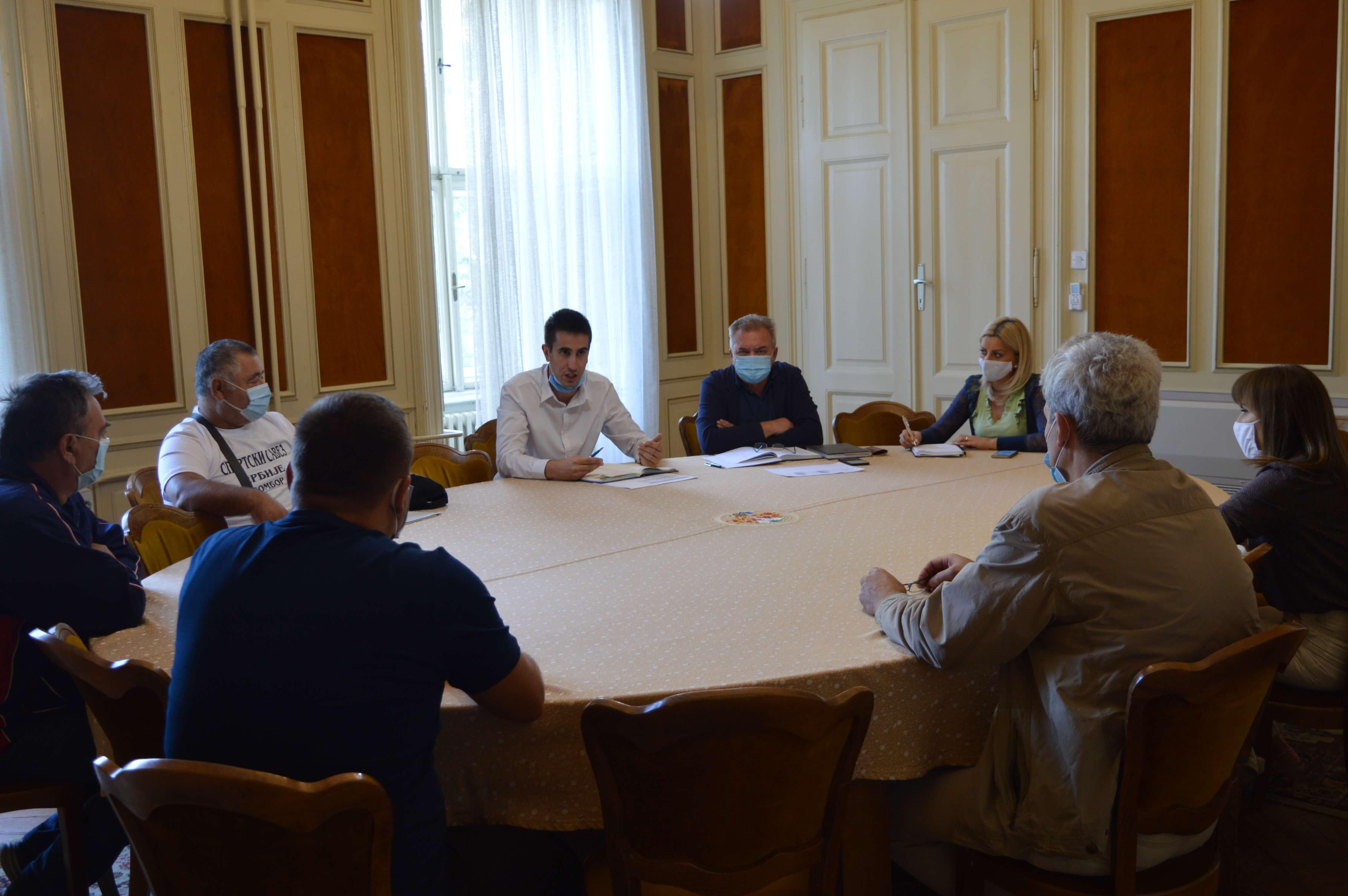 Састанак са представницима савета градских месних заједница