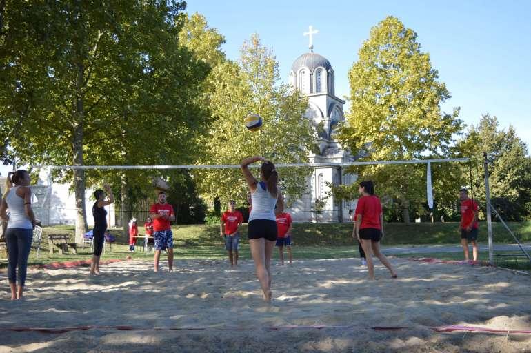 Такмичење у одбојци на песку