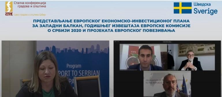Онлајн презентација Годишњег извештаја о Србији за 2020. годину