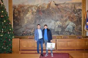 Градоначелник Антонио Ратковић и Филип Крајиновић