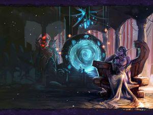 Azshara en el Portal