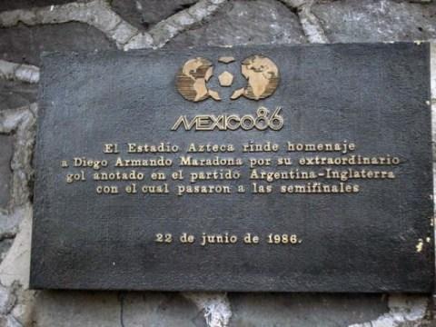 estadio-azteca-placa-maradona