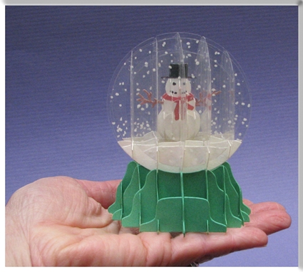 Snow Globe Die Set Some Assembly Required Paper Craft