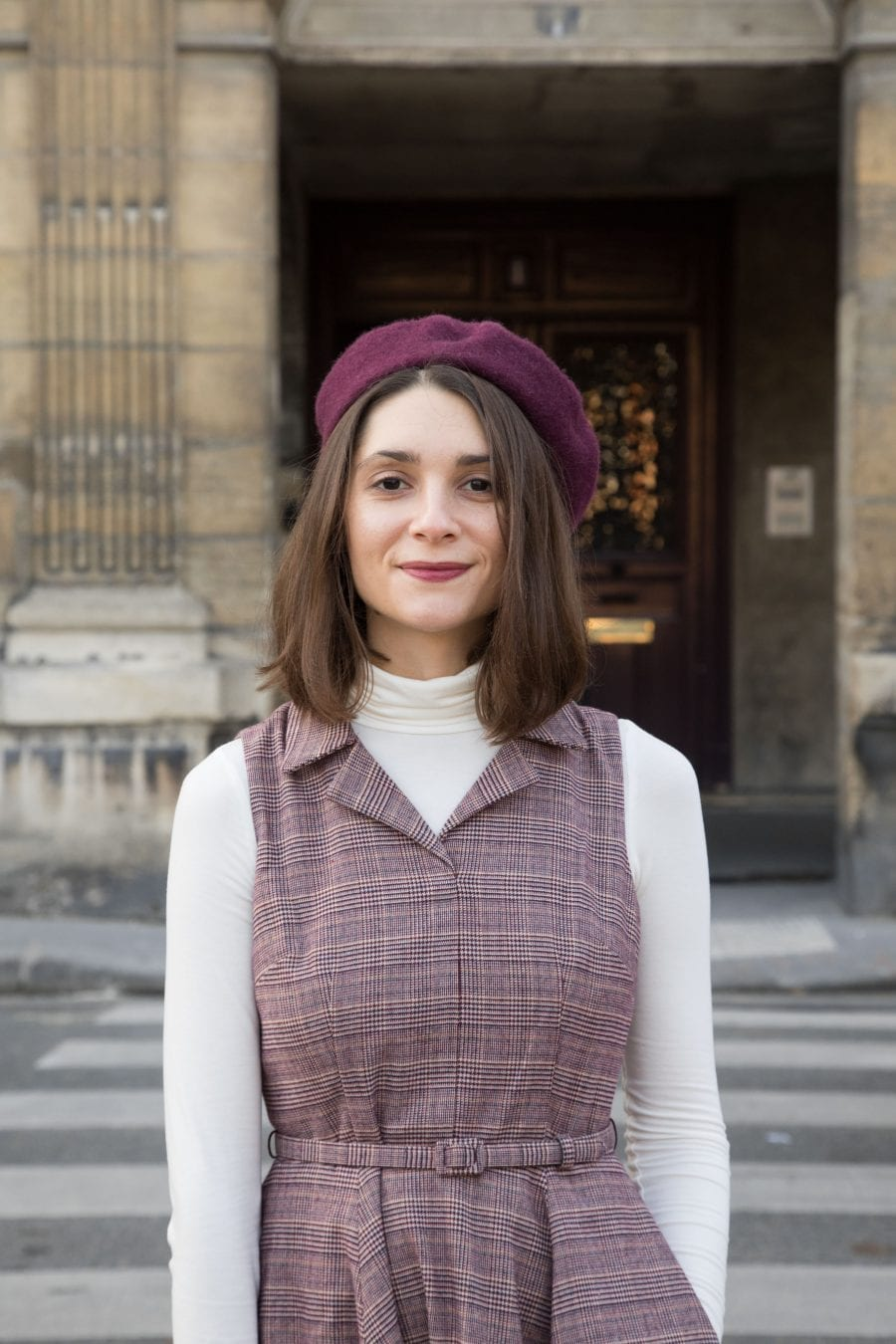 Rita dress by Gal Meets Glam and Julia Engel // Vintage dress in Paris / Blog-mode-couture-some-place-called-home