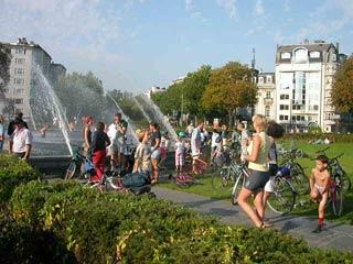 idéalement située, la fontaine Montgomery vous accueille un jour par an...