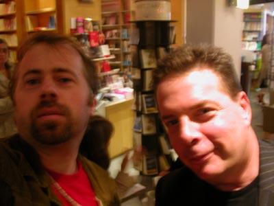 douglas kennedy (à droite)