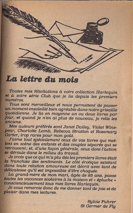 harlequinades-lettre-du-mois