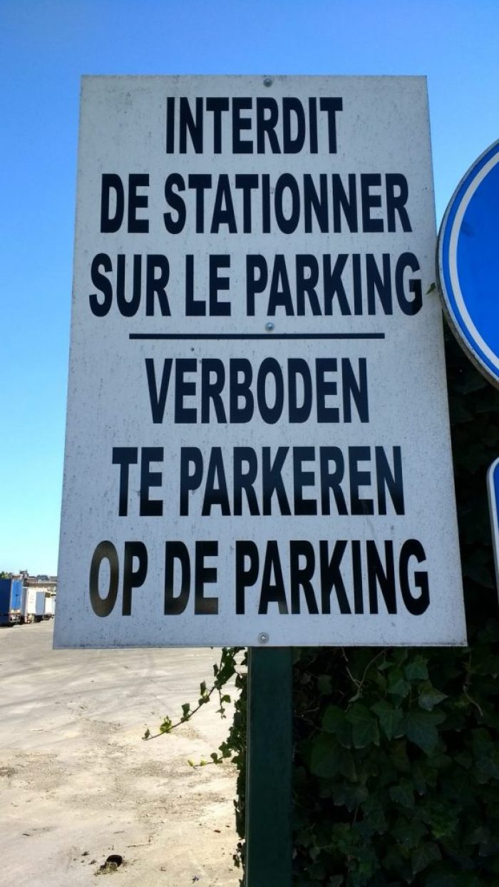 only in Belgium