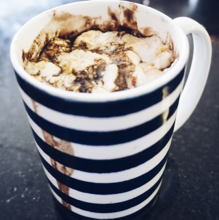 Dairy Free Hot Cocoa with Toasted Marshmallows