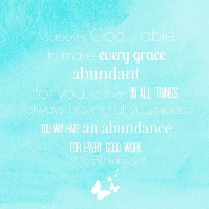 blue abundant grace