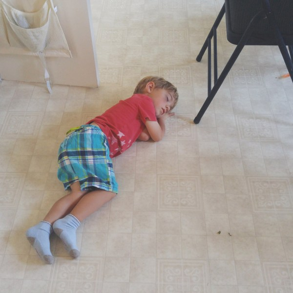 Three year olds + naps = awful bedtime