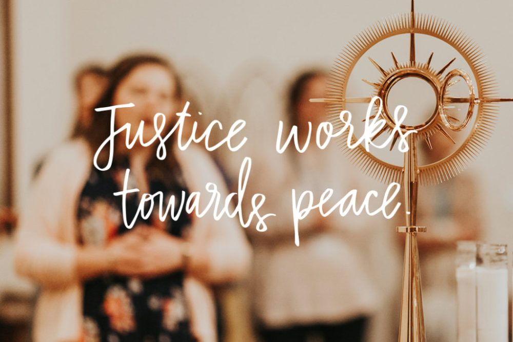 Justice, Peace, and Where is Jesus