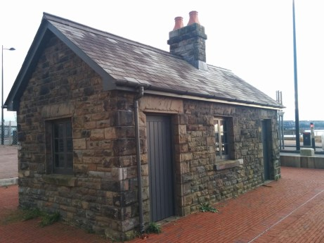 Of note is a small keeper's cottage on the bridge leading to the Experience. It now sits empty, save for derelict fixtures.