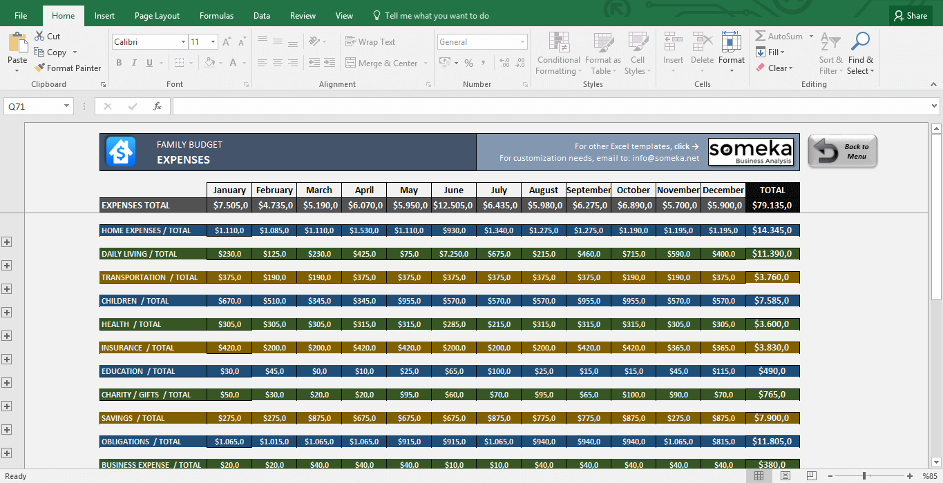 microsoft excel budgets - April.onthemarch.co