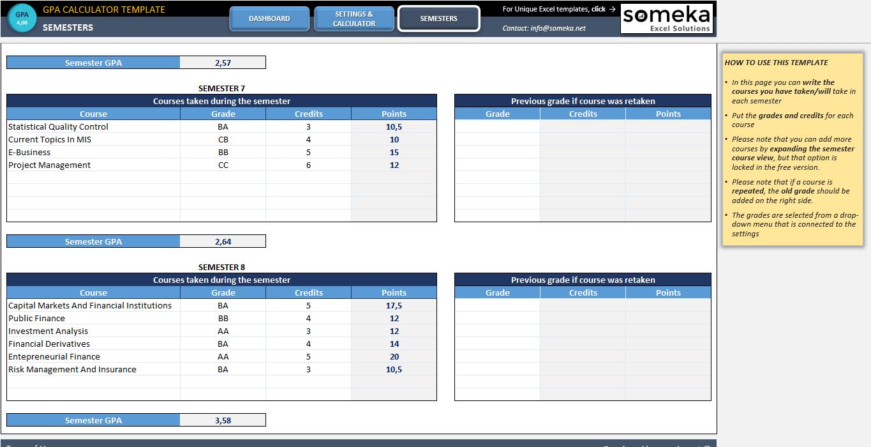 excel calculator online