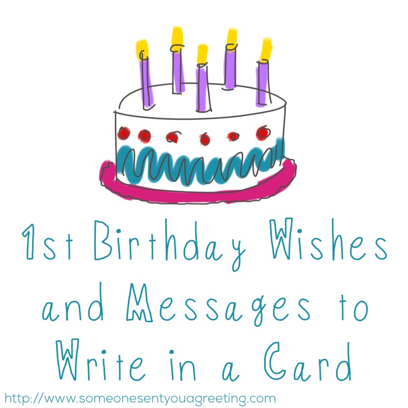 1st birthday wishes and
