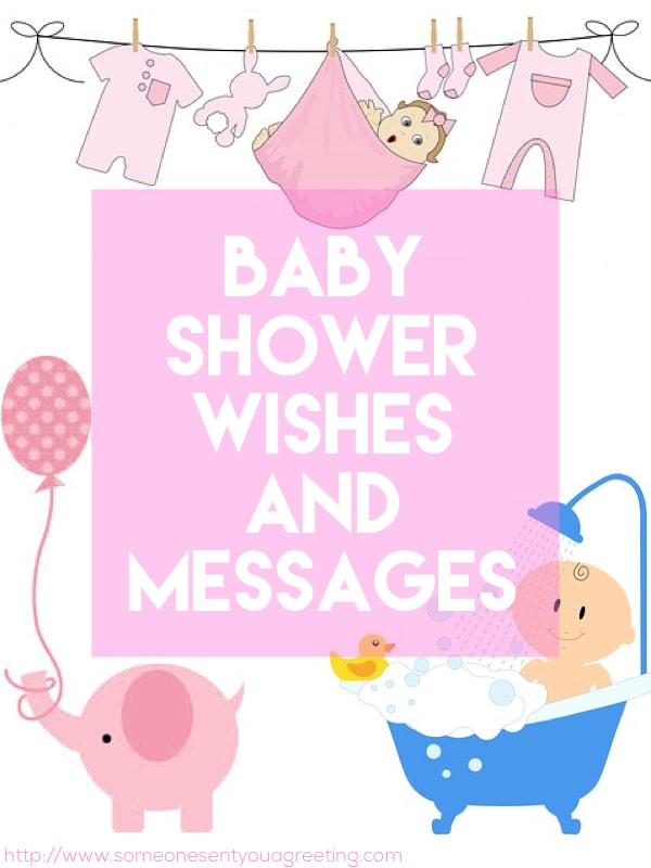 Baby Shower Wishes and Messages  Someone Sent You A Greeting