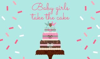 90 baby shower cake