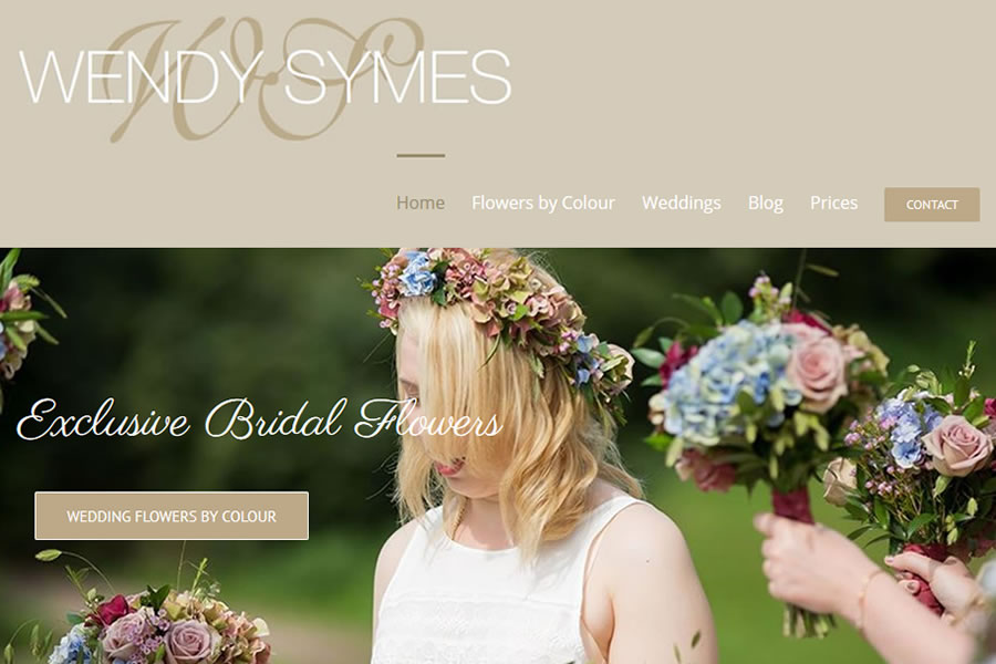 Wedding Flowers by Wendy - Wedding website designers in Somerset
