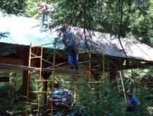 Pavilion restoration work done by Olde Tyme Builders,Inc. of Somerset
