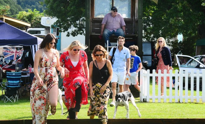 Somerset County Gazette: The Houldsworth Cup was held at Taunton Vale Polo Club, at Orchard Portman
