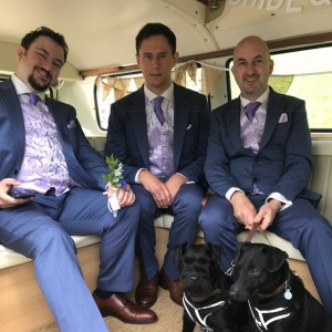 Somerset Wedding Campervans will take well behaved dogs