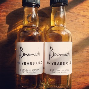 Benromach10and15samp