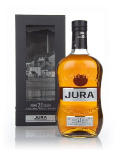 isle of jura 21 year old whisky