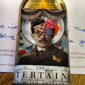 The Entertainer Compass Box Sample