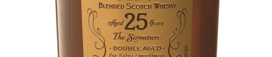 Dewars 25yo Bottle