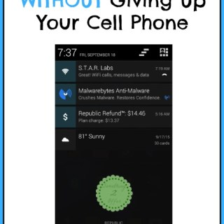 Cutting Expenses Without Giving Up Your Cell Phone