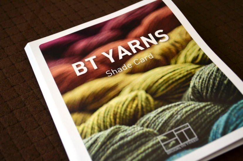 Brooklyn Tweed Color Card