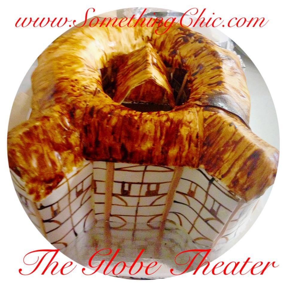 The Globe Theater Cake