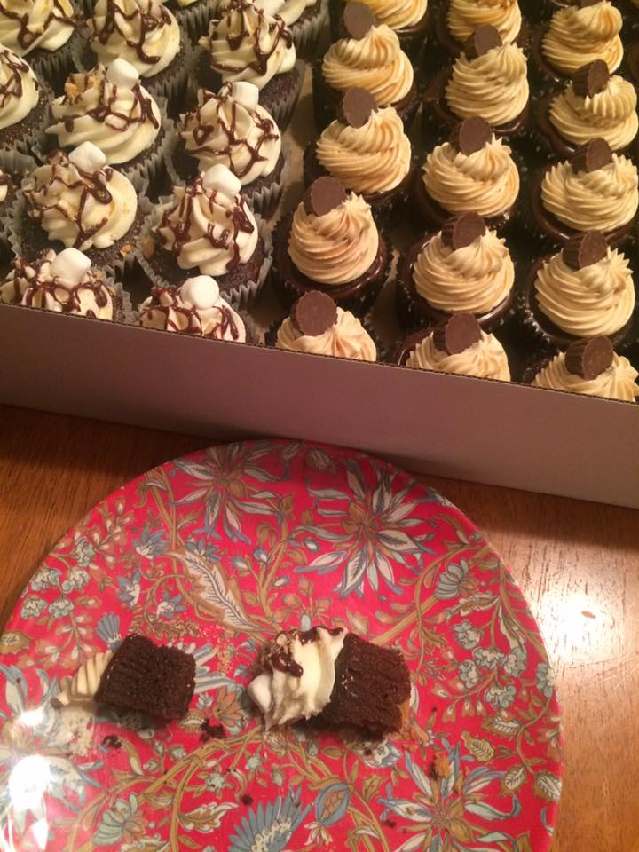 Delish Smore's and Peanut Butter Cup Cupcakes