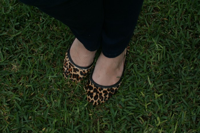 Cole Haan Leopard Flats