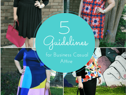 5 Guidelines for Business Casual Attire