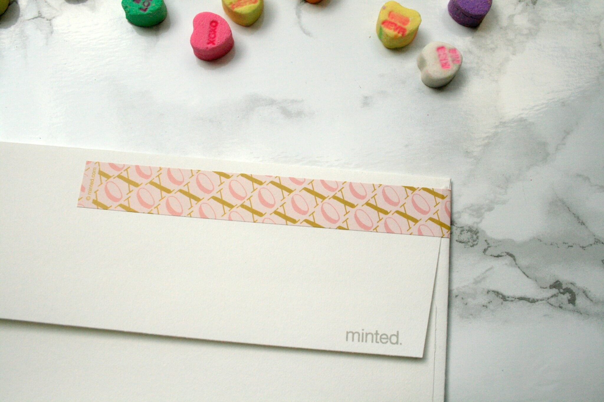 Minted Address Label