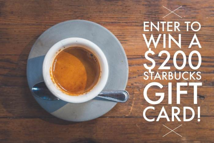 Wishlist Wednesday + a Starbucks Giveaway