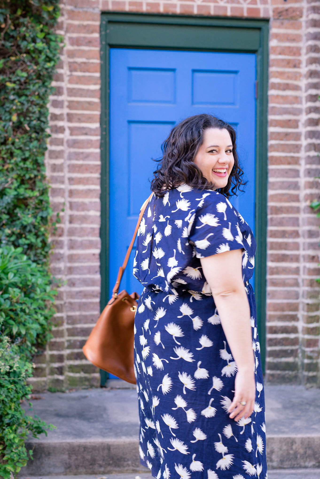 Matchy, Matchy - Something Gold, Something Blue curvy fashion blog - Sharing how I styled this Old Navy floral set