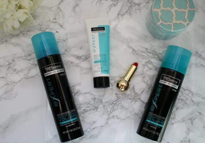 How to create gorgeous curls with TRESemme Beauty-Full Volume Collection - Something Gold, Something Blue life + style blog