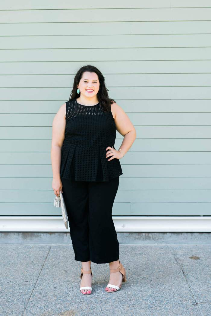 Little Black Jumpsuit + Giveaway
