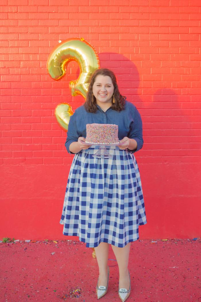 It's been such a fun journey these past 3 years blogging on Something Gold, Something Blue. Thank you to everyone for all of your amazing support throughout this journey! |Something Gold, Something Blue a curvy fashion blog by Emily Bastedo