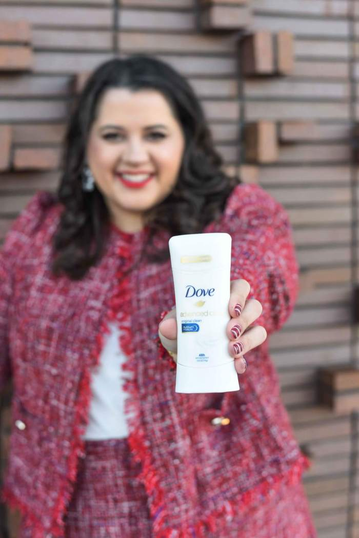 My Travel Beauty Favorites with Dove Advanced Care