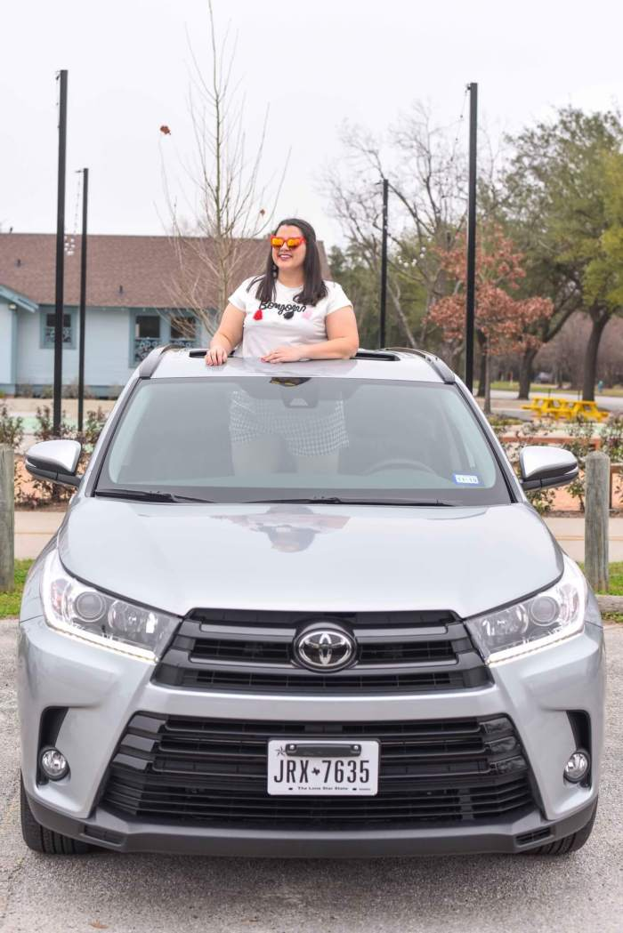 Houston Spring Road Trip Activities with the 2018 Toyota Highlander