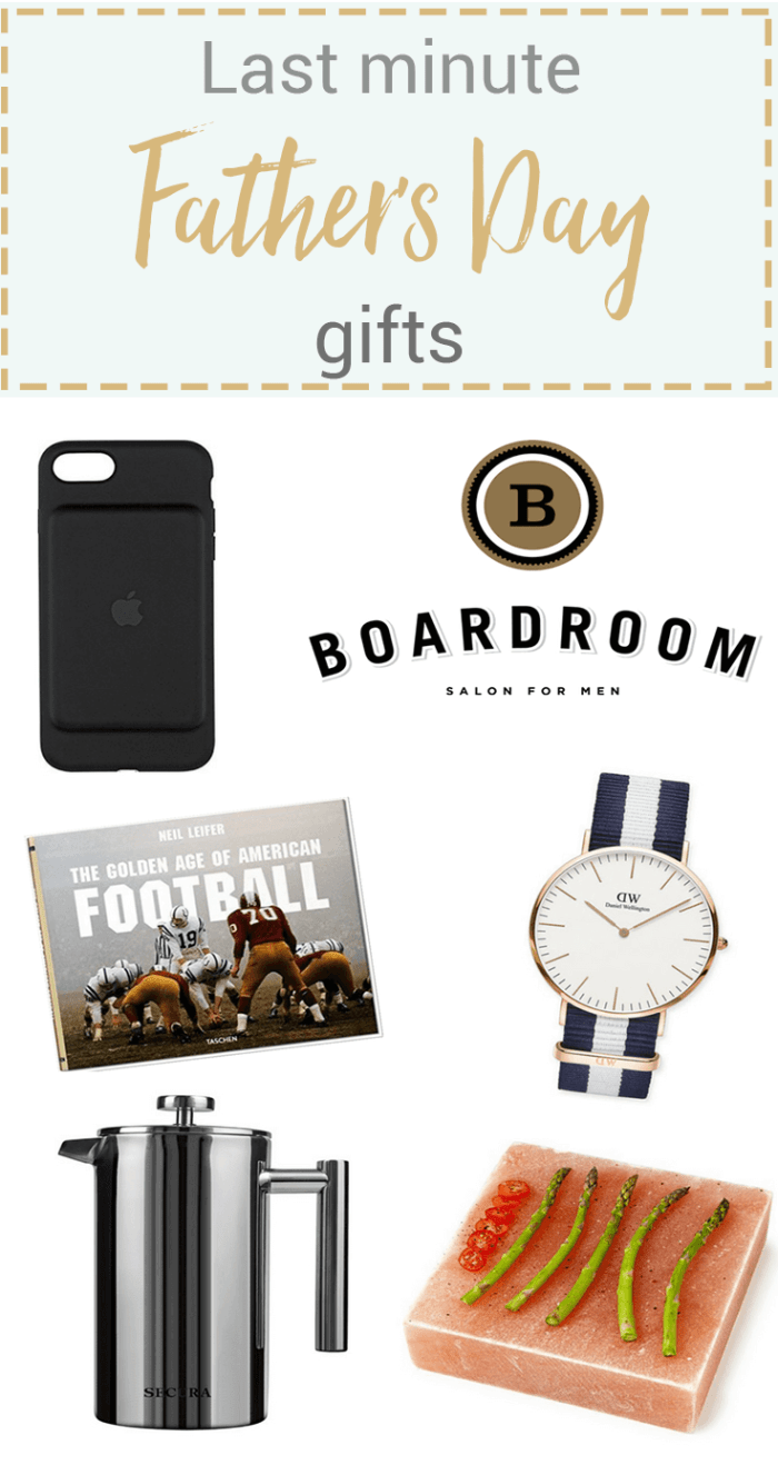 Last Minute Father's Day Gifts + A Giveaway
