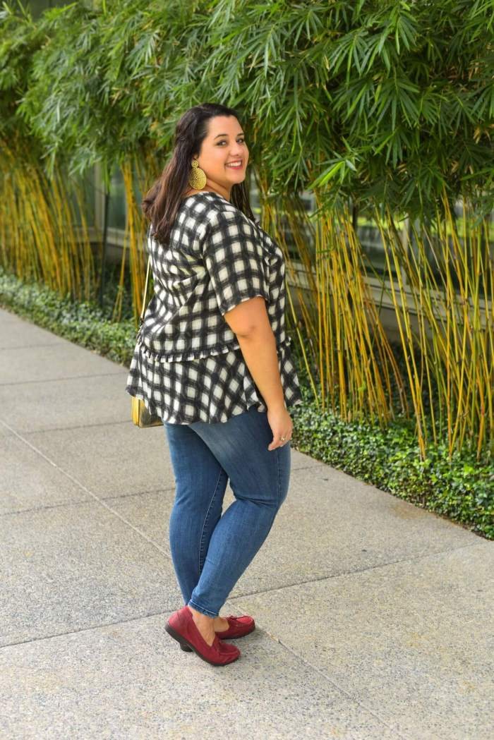 Wit & Wisom jeans are perfect for any summer or fall plus size look