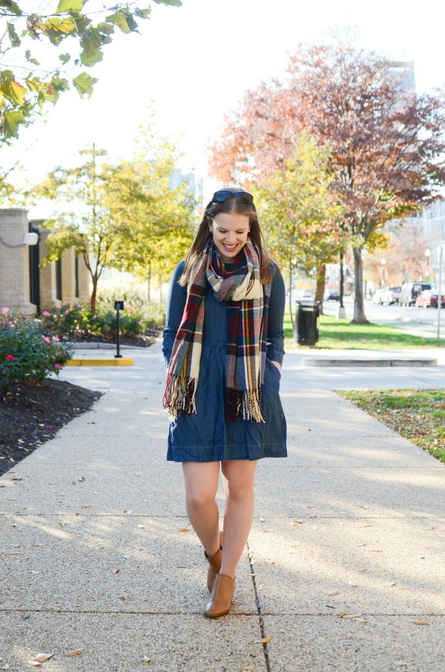 The Denim Dress (Part 2) | Something Good, abercrombie and fitch a-line denim dress