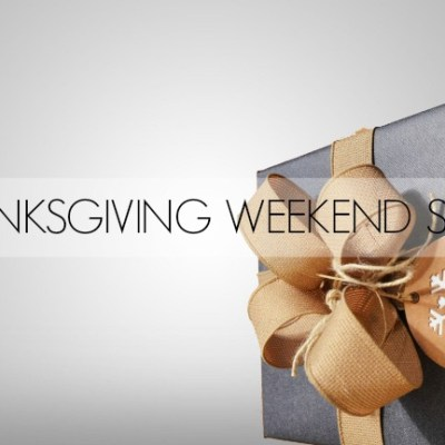 Thanksgiving Weekend Sales: Black Friday to Cyber Monday