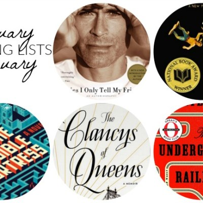 Sunday Book Club: January and February Reading Lists
