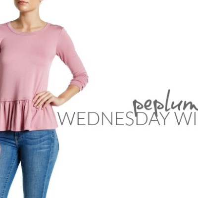 Wednesday Wishlist: Peplum Tees